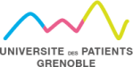 Logo Université des patients Grenoble