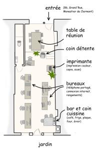 Plan La Fourmillière